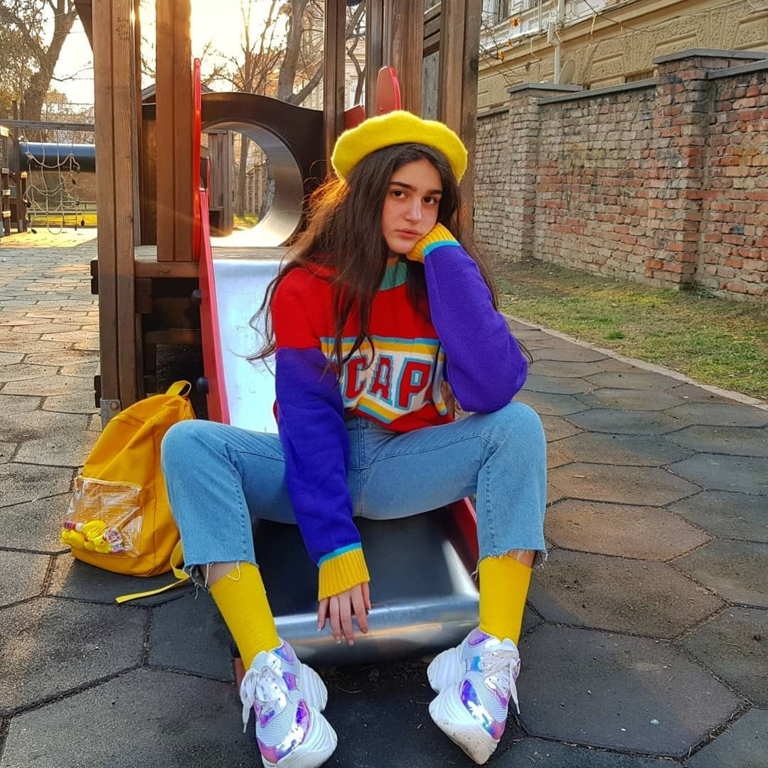 90s Fashion Rgb Colors Clothes Retro Outfits Colourful Outfits Streetwear Fashion