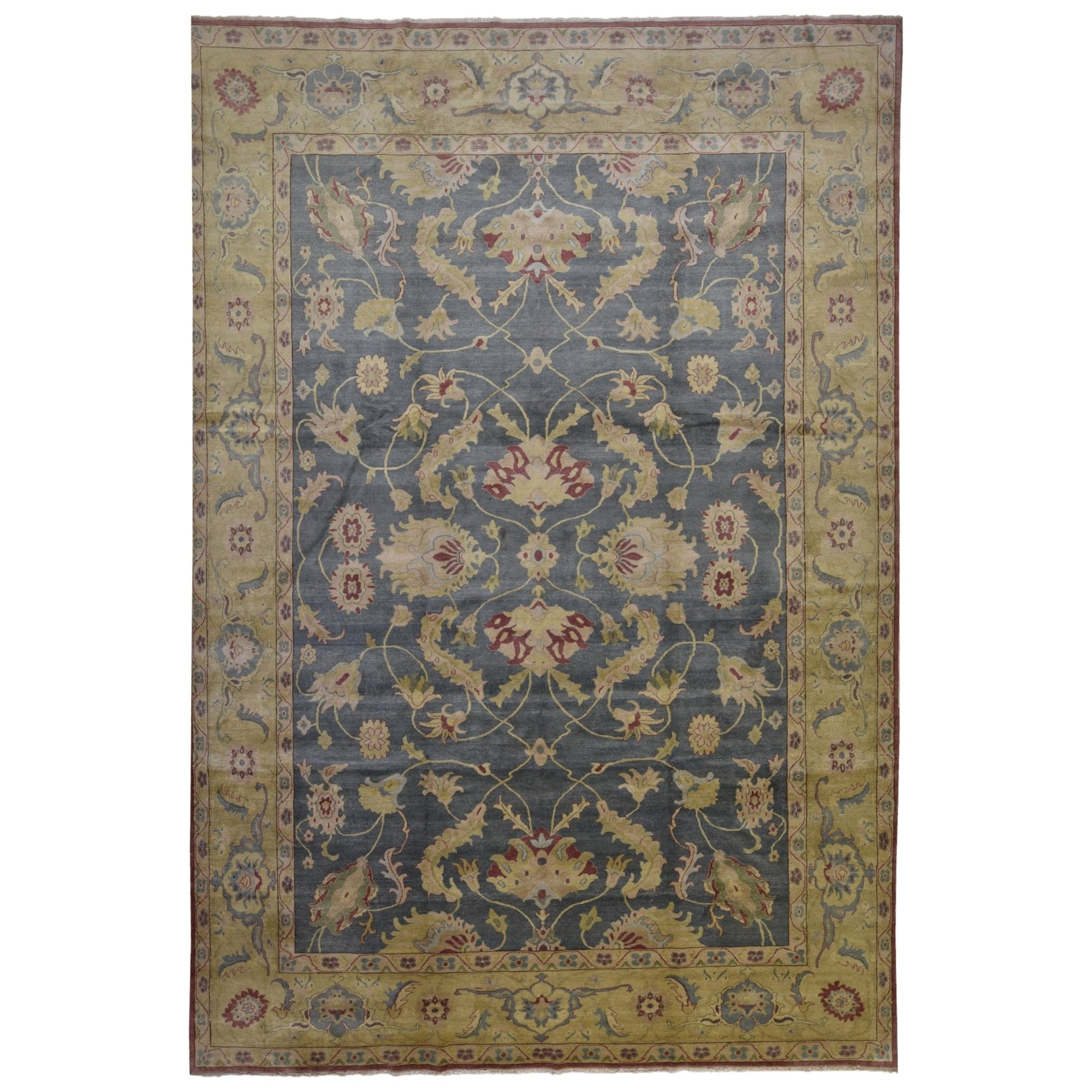 Finerugcollection Hand Made Fine Egyptian Peshawar Area Rug 9 11
