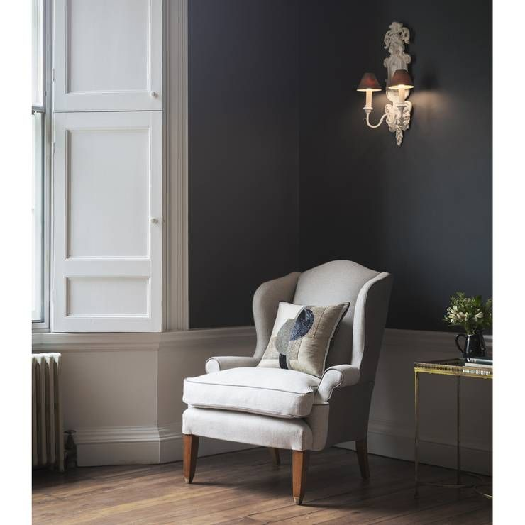 The Club Wing Chair with the Piet cushion. A perfect chair for reading the Sunday papers.