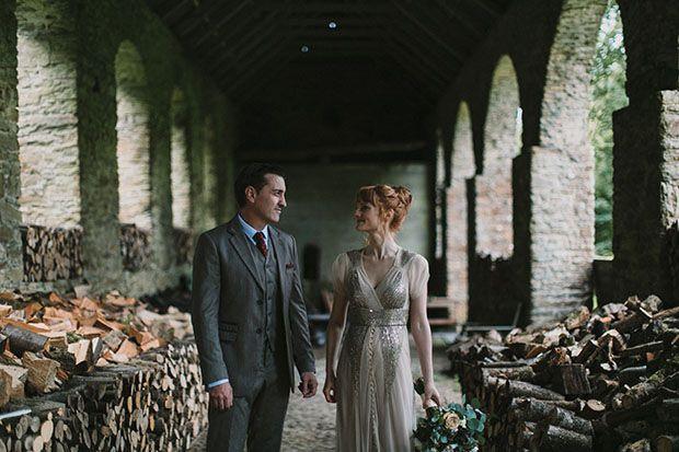 Let S Get Lost Laura Daniel S Magical Roundwood House Wedding Onefabday Com Ireland Wedding Real Weddings Wedding Couples