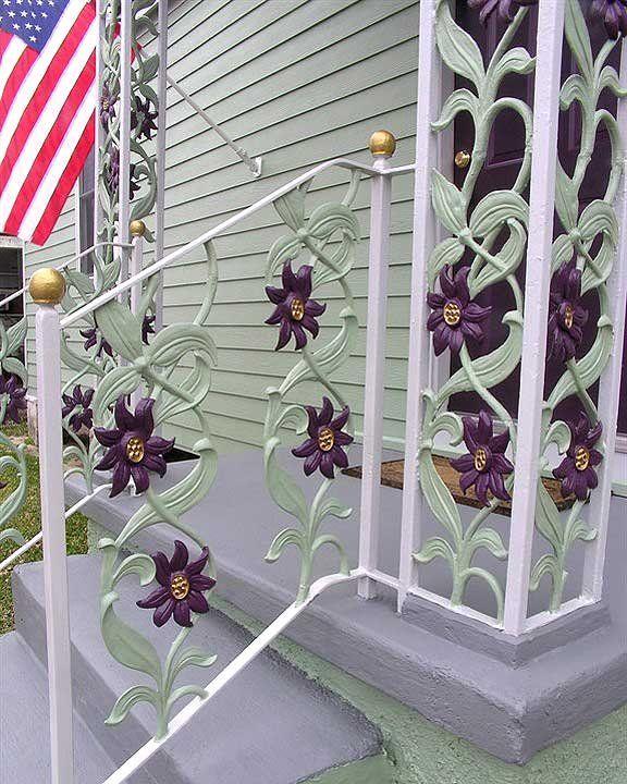 Photos: Custom Wrought Iron | Wrought iron, House exterior ...