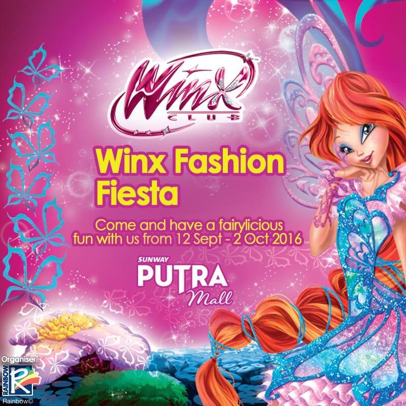 12 Sep-2 Oct 2016: Sunway Putra Mall Winx Fashion Fiesta