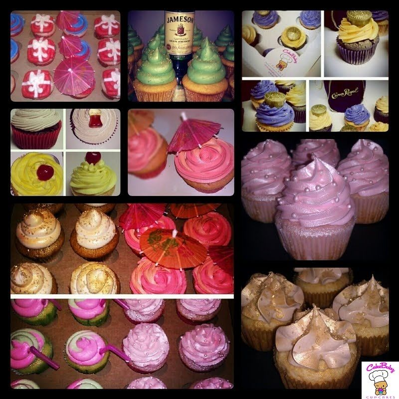 Alcohol Infused Cupcakes ~ Your Favorite Cocktail in a Cupcake! cakebabycupcakes.com