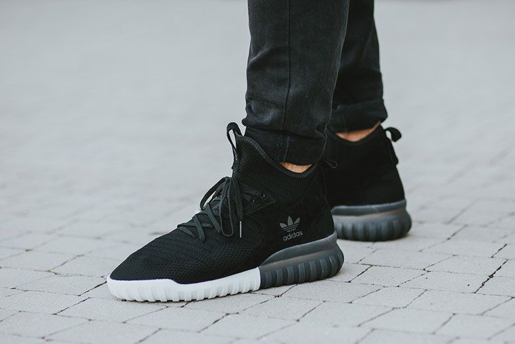Adidas tubular x primeknit runner black white will Y 3 and