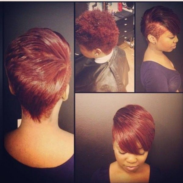 Short Flat Iron Hairstyles Flat Ironed To A Tee  Short & Sassy Baby  Pinterest  Flat Iron