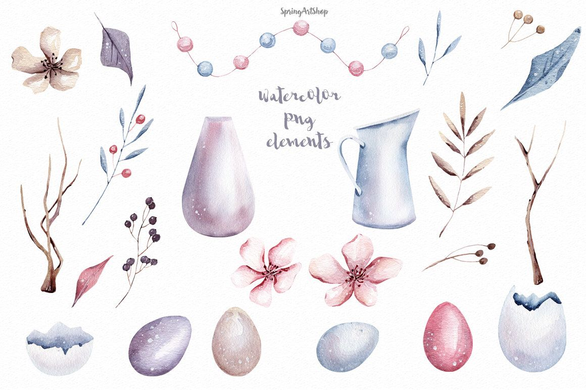 Easter egg watercolor. Excited to share the