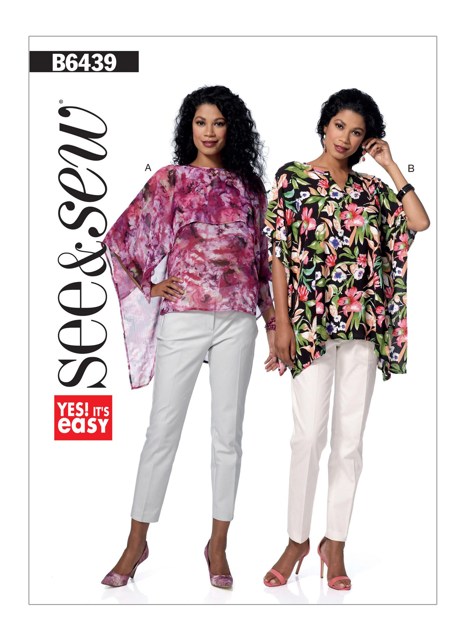 B6439 | Butterick Patterns | Tops | Pinterest | Sewing patterns ...