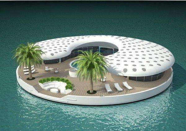 остров дубай дома
