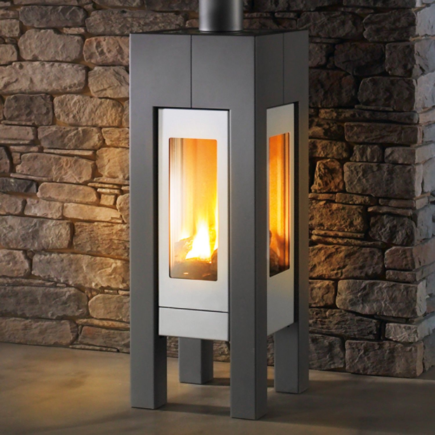 MODENA 8140 gas stove by Hearthstone. Heats up to 1300 sq