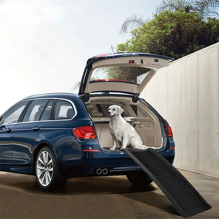 ペット用スロープ 車用 ドライブスロープ ステップ 折り畳み可能 子犬 老犬 胴長短足 犬猫用 ドッグステップ 犬 車 犬