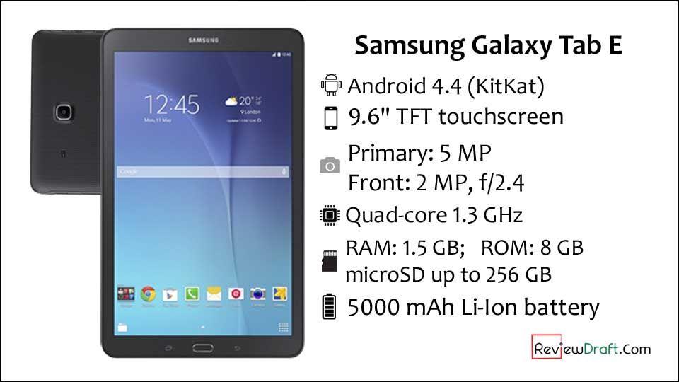Samsung Galaxy Tab E 9 6 Price In Bangladesh Full Specification Samsung Galaxy Tab Samsung Galaxy Tab