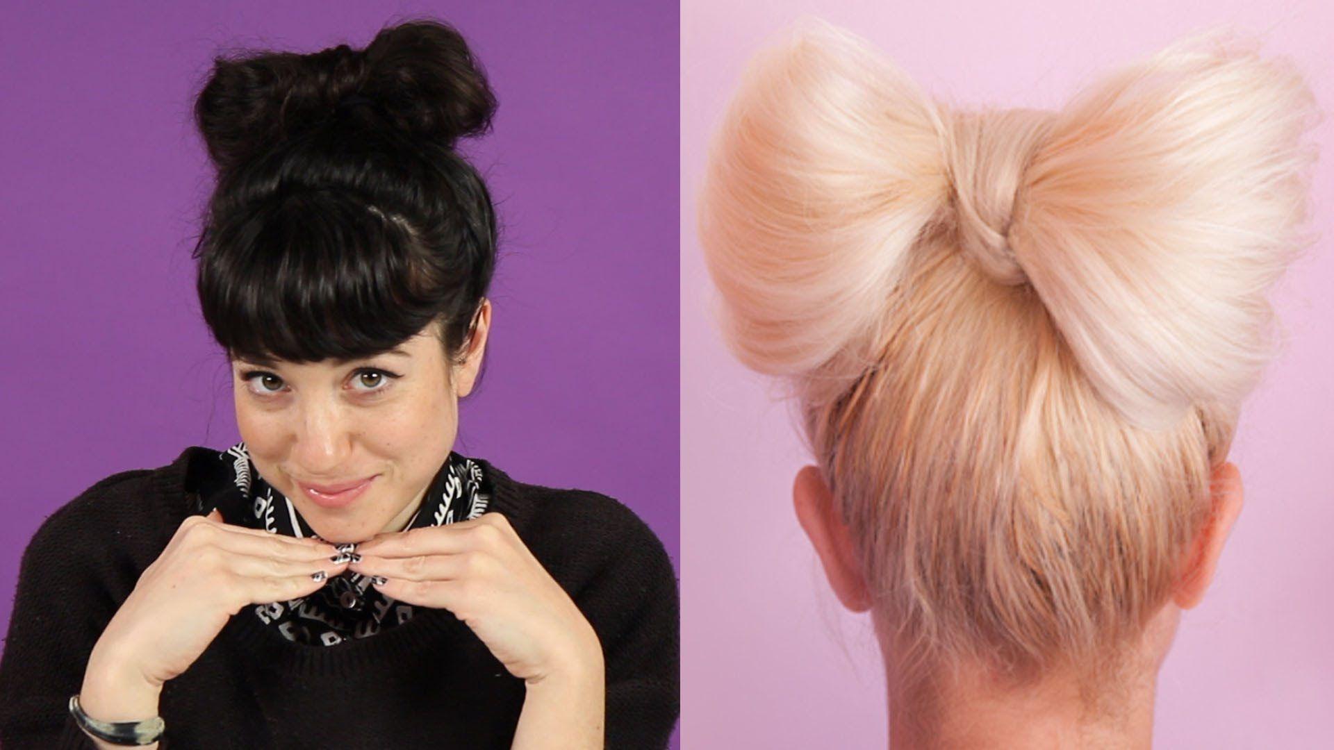 Watch: BuzzFeed Video - Women Try Pinterest Hair Tutorials | Hair ...