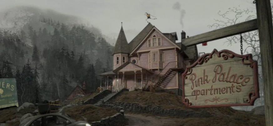 Coraline Pink Palace Apts Color Scheme Reference Coraline Aesthetic Coraline Movie Coraline