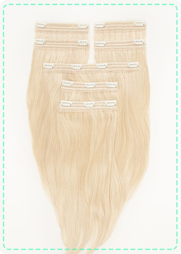 Best Hair Extensions For Volume Bobby Glam Full Head Hair Extensio