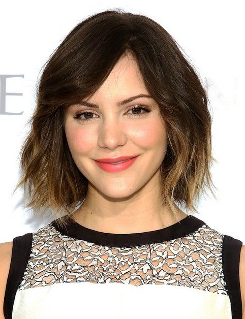 Katharine McPhee's Short Hairstyles: Ombre Haircut for Short Hair