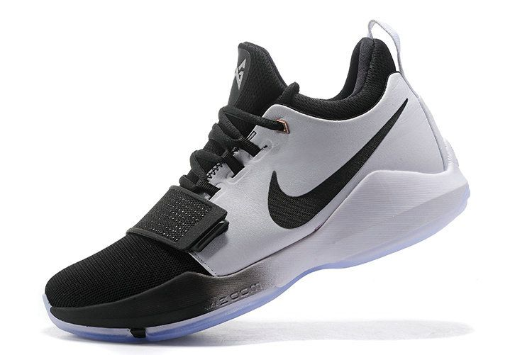 2079604a10ad Sale Cheap New NIKE PG 1 Paul George Shoes 2017 White Black ...