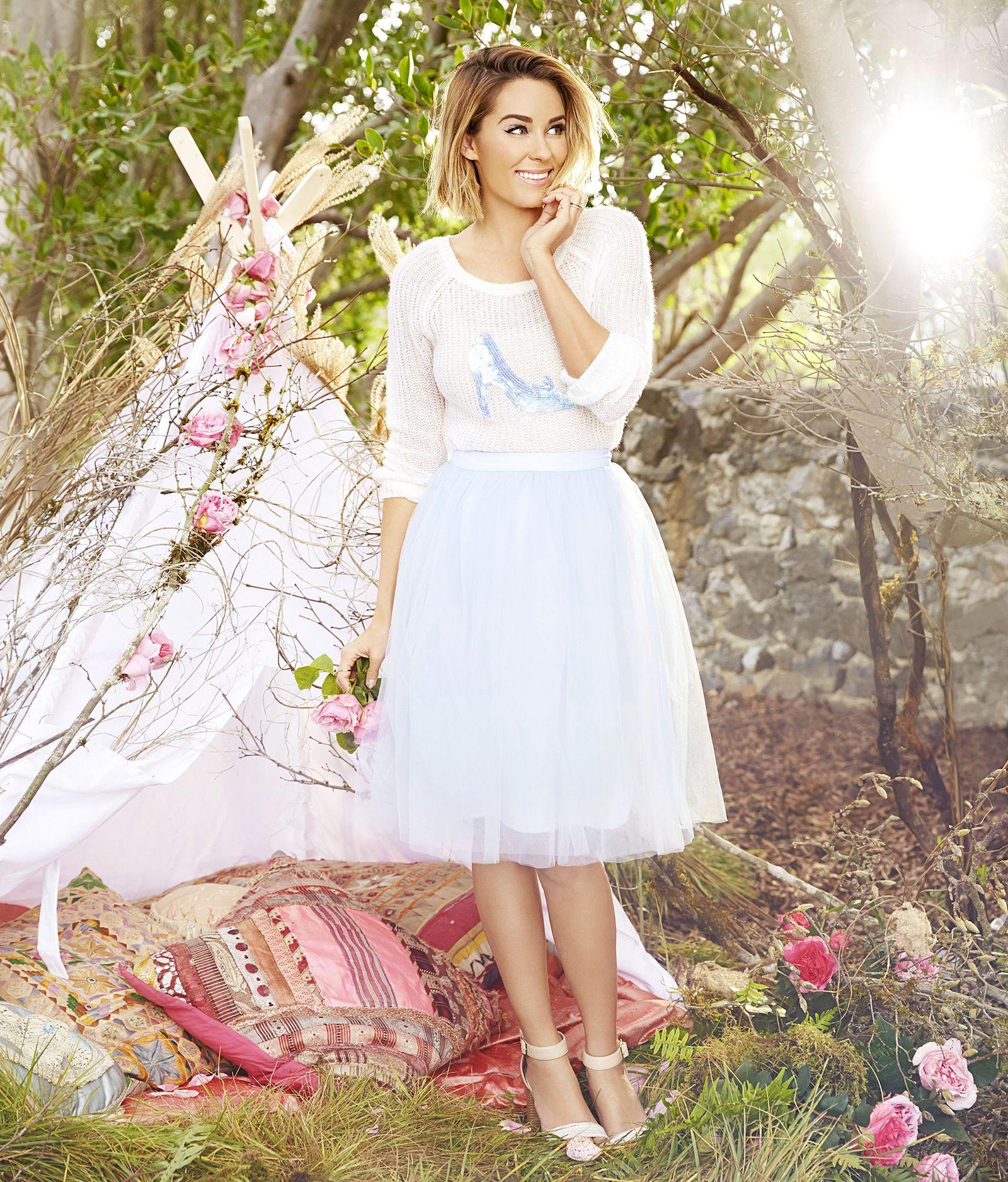 LC Lauren Conrad Disney Cinderella Tulle Skirt - S