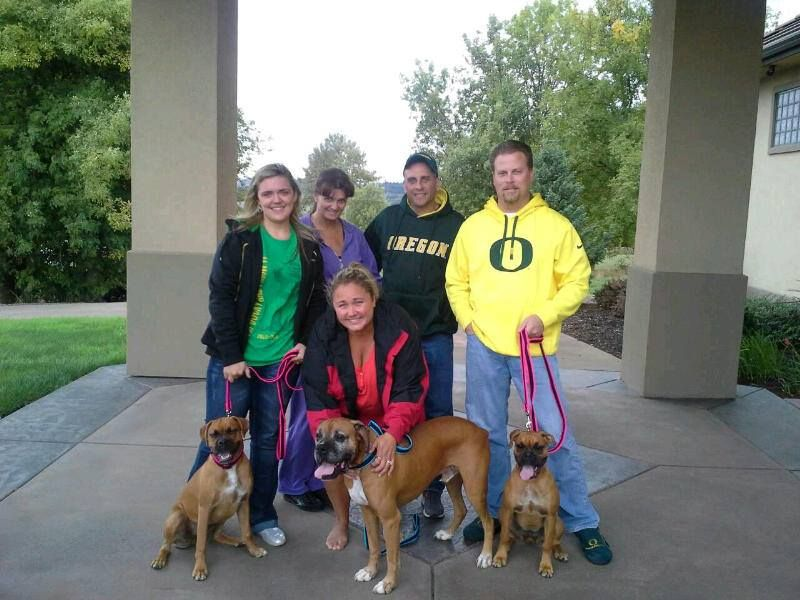 Its official!! Bo is an Oregon Duck now! He was