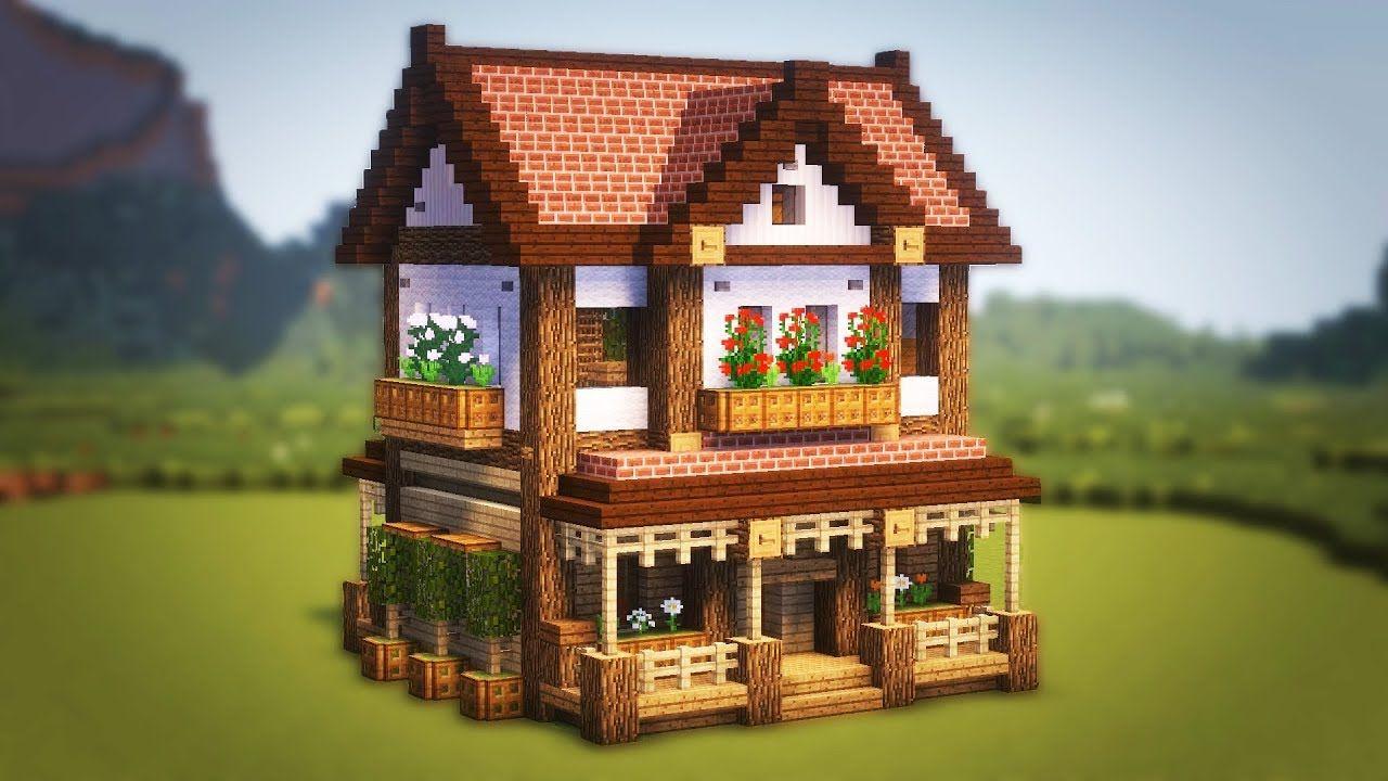 Cute Minecraft House Cute Minecraft Houses Minecraft Cottage Easy Minecraft Houses