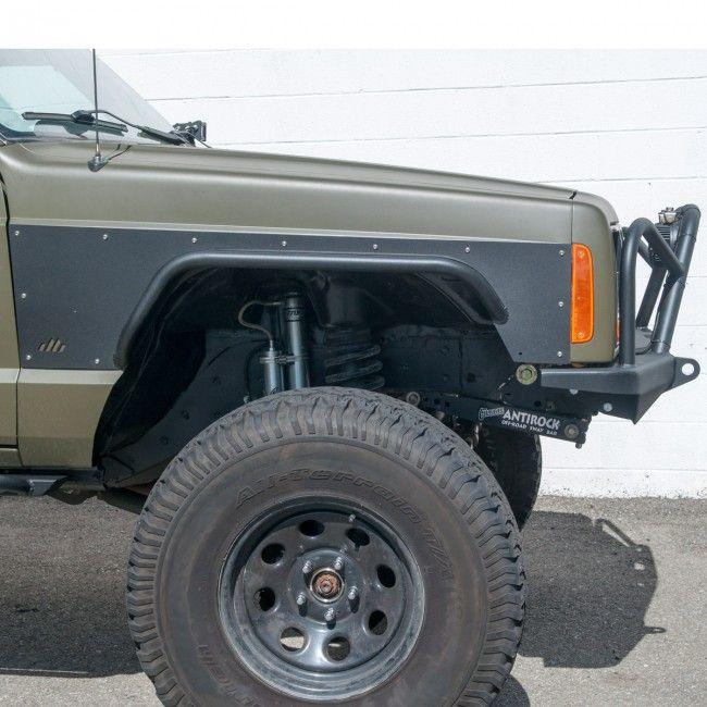 DIY Front Tube Fender Flares - Jeep Cherokee XJ | jeep