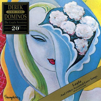 My favorite album....Derek & The Dominos 'Layla and Other Assorted Love Songs', 1970.