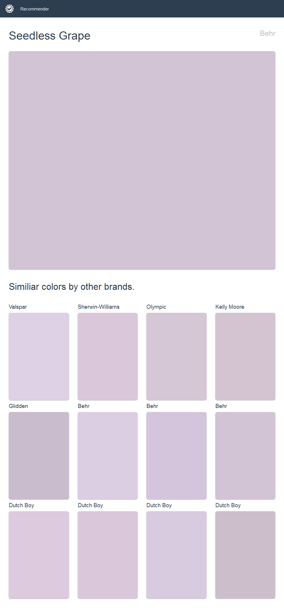 seedless grape behr click the image to see similiar on behr paint colors interior id=26948