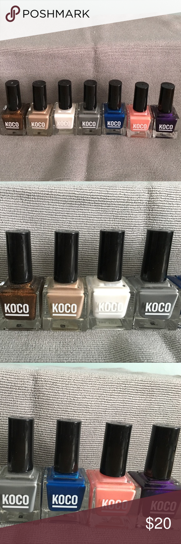 7 Koco nail polishes | Royals, Stone and Customer support