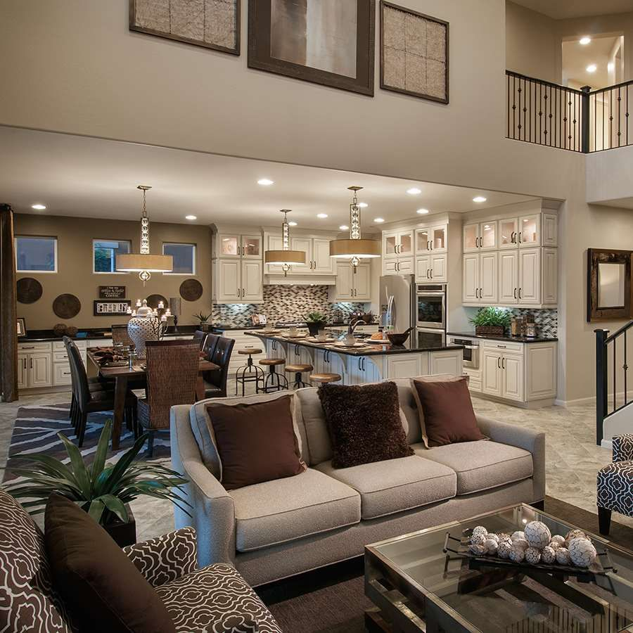 Mattamy homes inspiration gallery living room brown accents open con pinterest living for Living room inspiration gallery