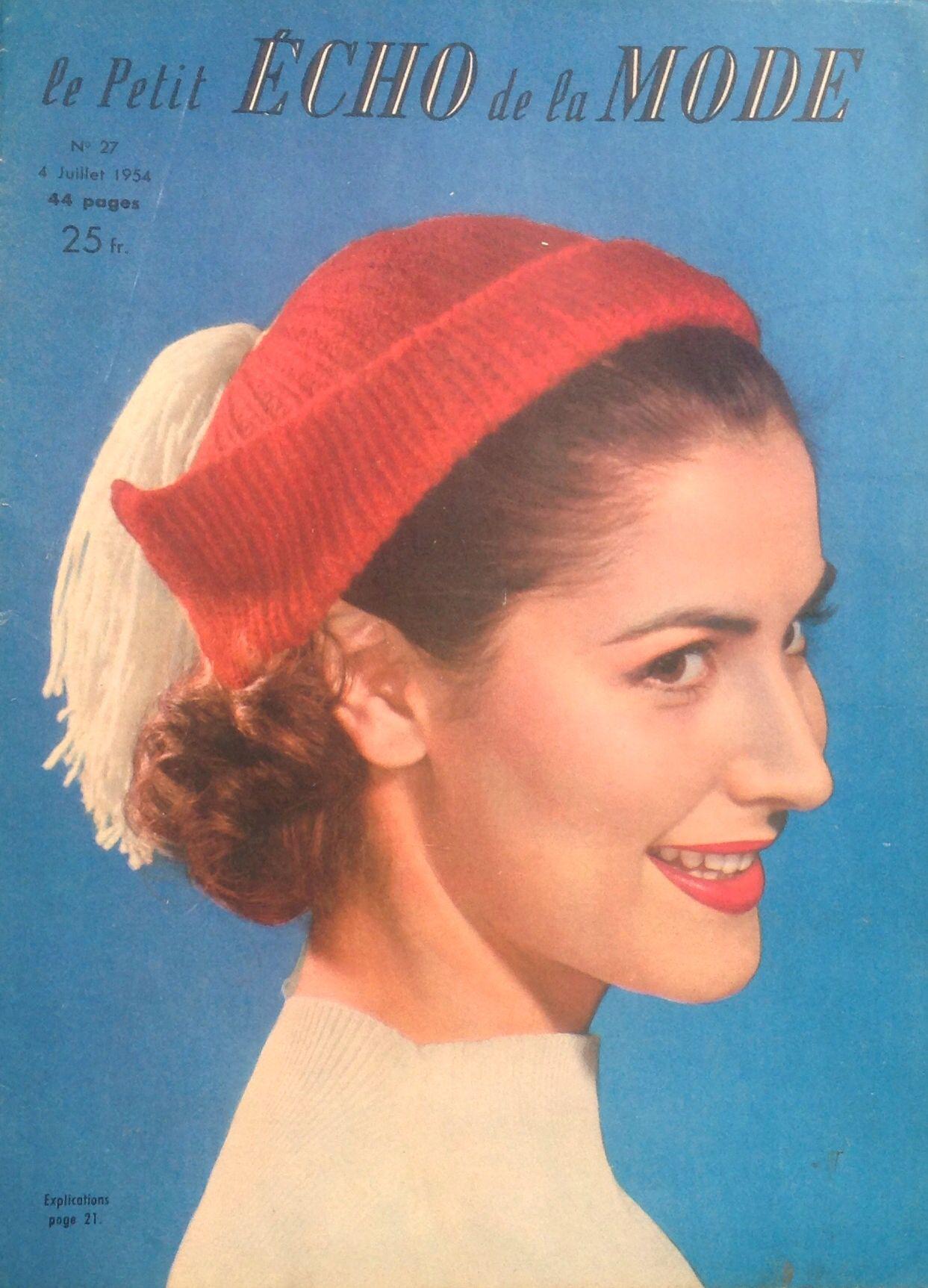 Le Petit Écho de la Mode - Juillet 1954