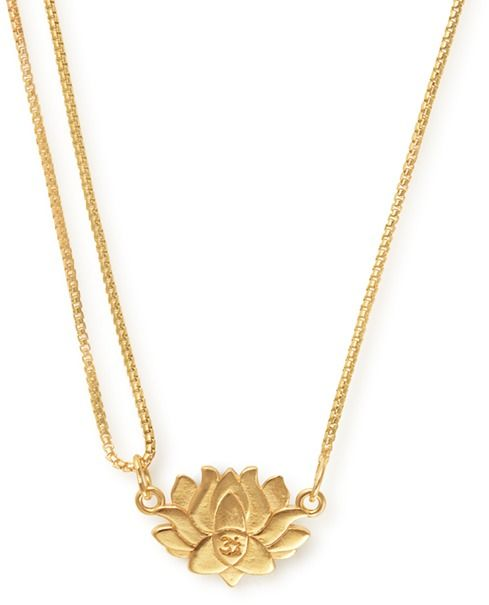 Alex And Ani Pull Chain Necklace Lotus
