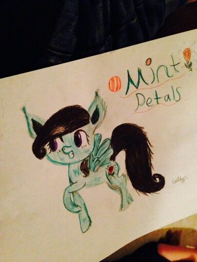 My Oc. Mint Petals! Do You Like Her?