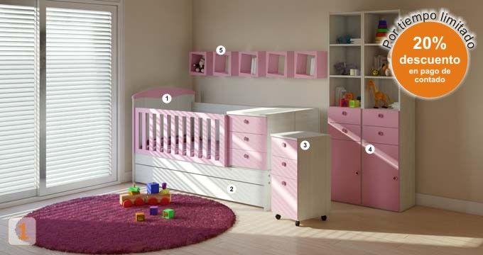 bebes hogar muebles juveniles cunas camas dormitorios bebes-hogar ...