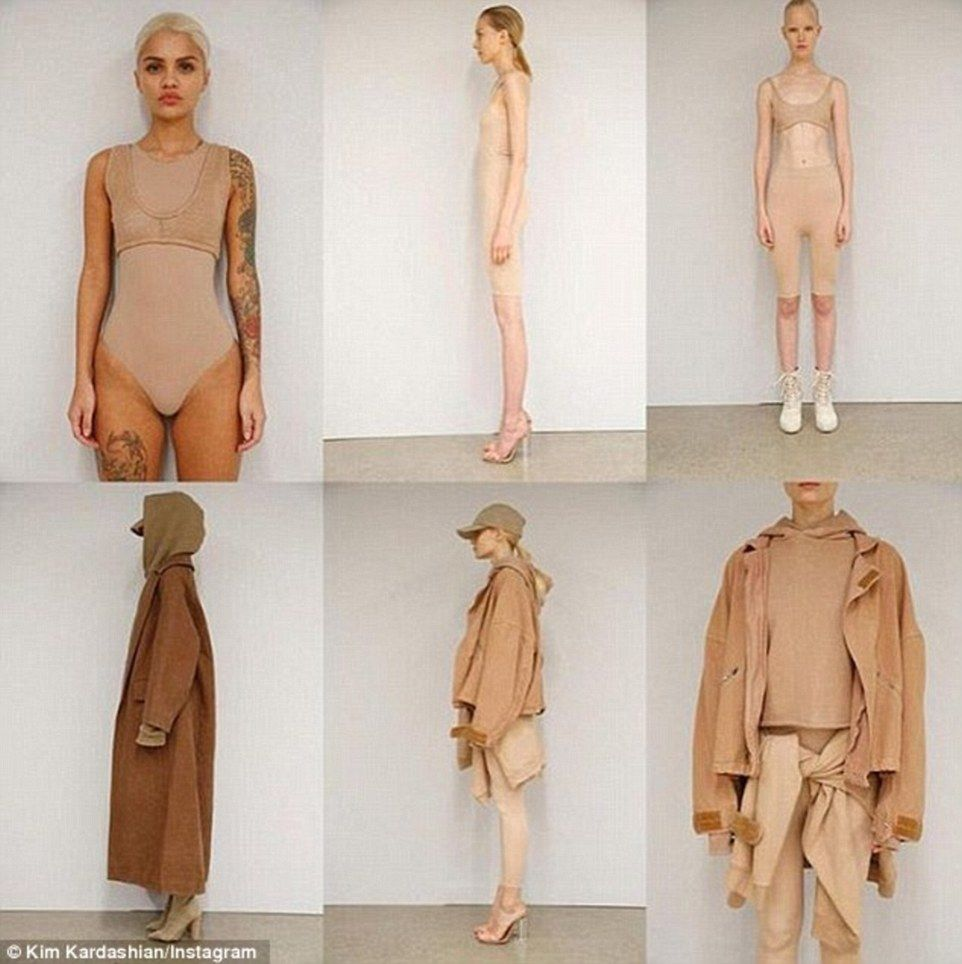 Instagram Pictures Posted Of The Fashion Line Reveal Nude Colors And Multiple Layers Which Were