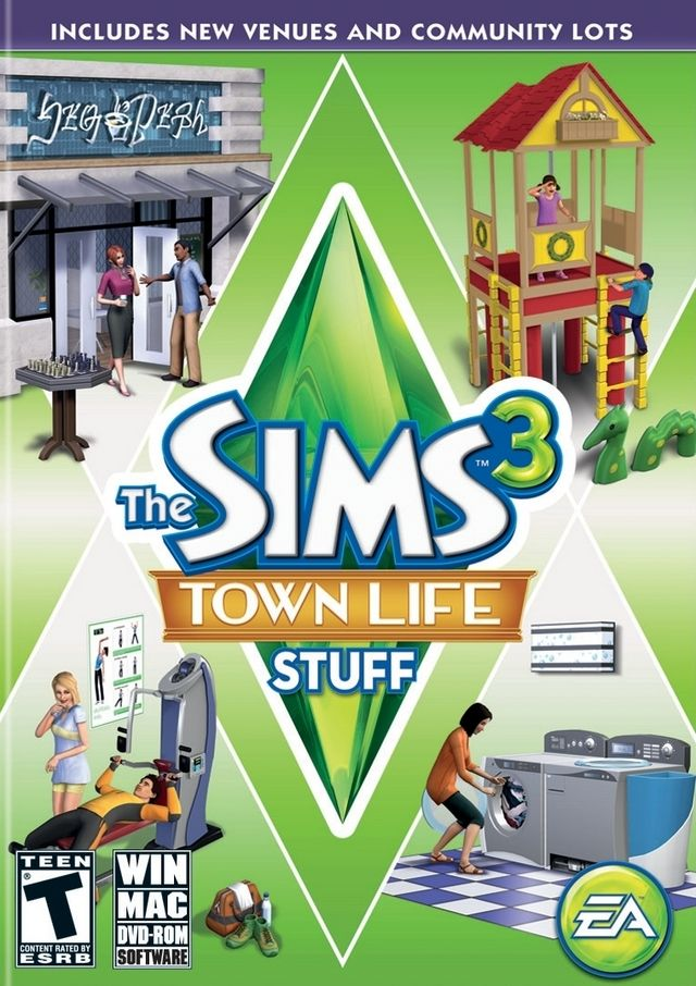 The Sims 3: Town Life Stuff | Games | Mac games, Sims, Sims 3