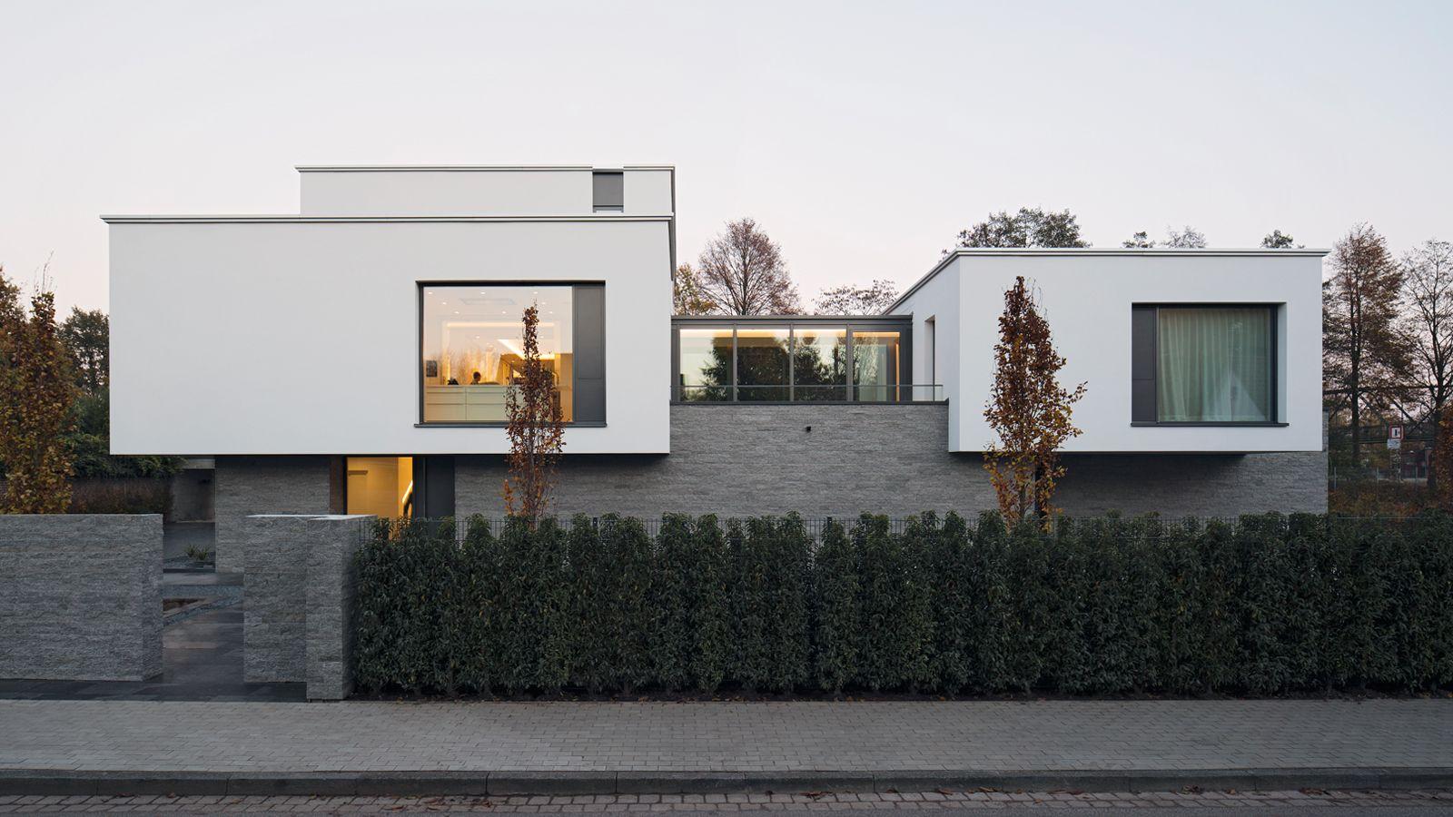 Pin von rich rd korom auf modern csal di h zak nyaral k for Modernes betonhaus