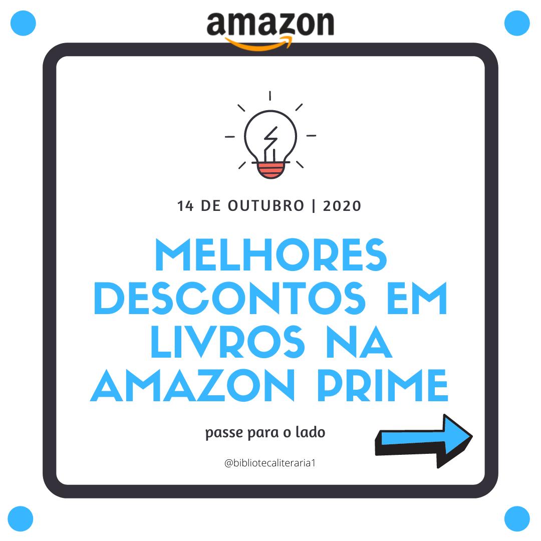 Os Melhores Descontos Na Amazon Prime Desconto Prime Day Livros