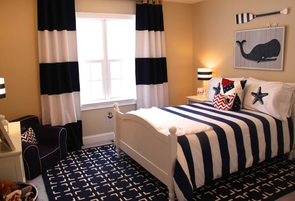 How To Decorate A Nautical Theme Bedroom Design A Nursery Or