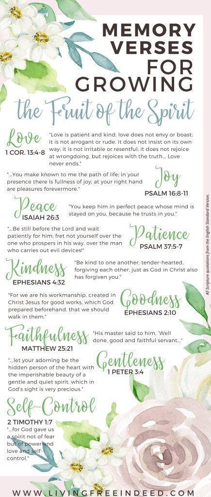 What it Means to Walk by the Spirit - Free Indeed | What are the fruit of the Spirit | Memory Verses for fruit of the Spirit | Love Joy Peace Patience Kindness Goodness Faithfulness Gentleness Self Control