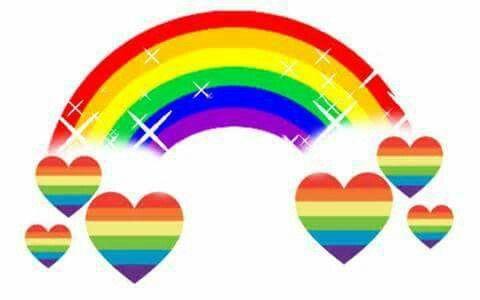 Rainbow Hearts With Images Rainbow Heart Rainbow Colors Art
