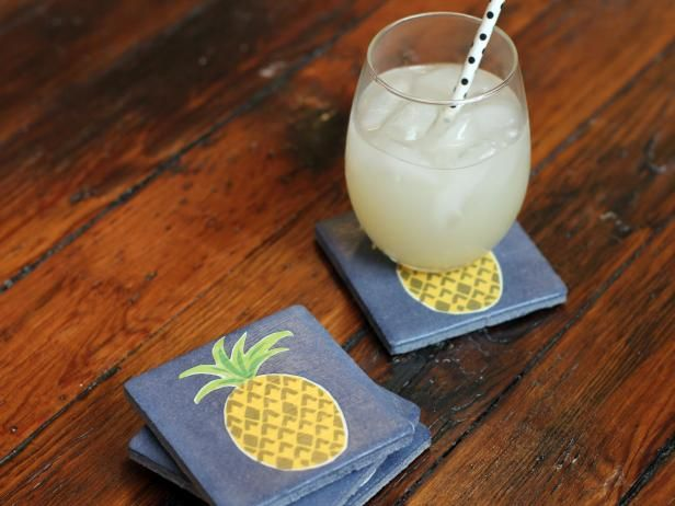 How to turn old tiles into new drink coasters >> http://www.diynetwork.com/made-and-remade/make-it/how-to-upcycle-old-tiles-into-coasters?soc=pinterest