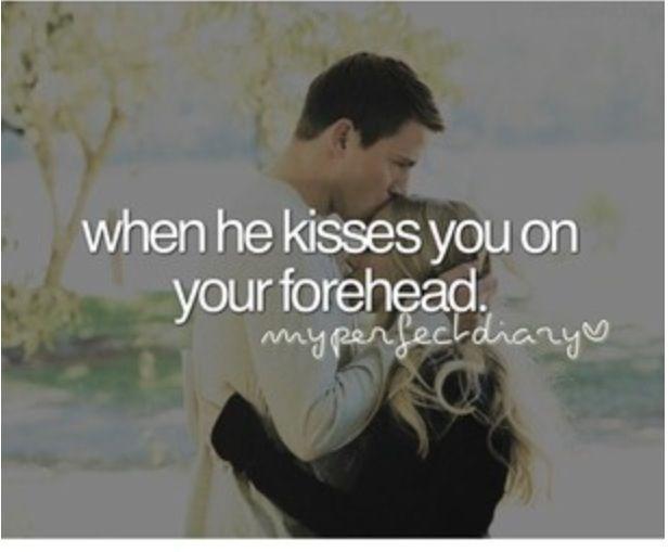Love kissing my boyfriend