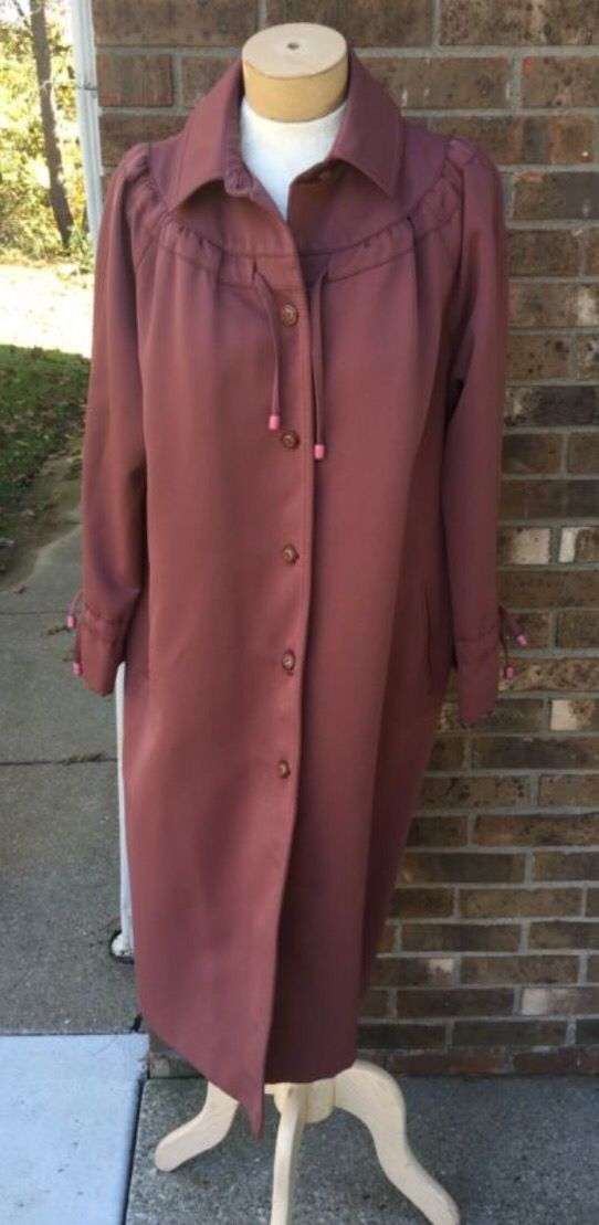 Gorgeous vintage trench coat. For sale, click link!