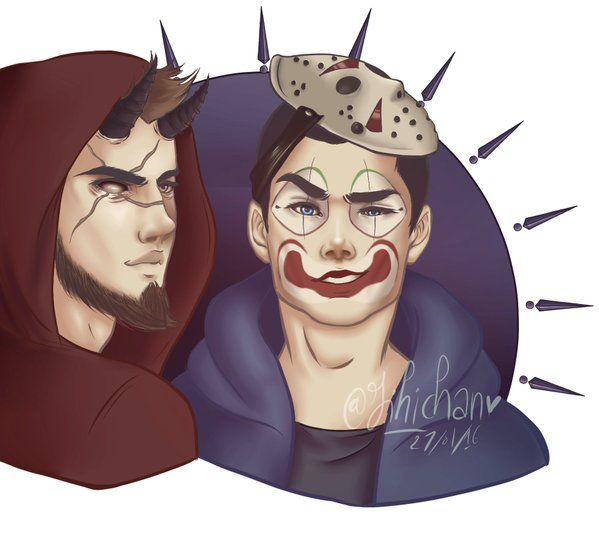 Jihi_Chan from Twitter makes THE BEST fanart! This is for ... H20 Delirious Fan Art