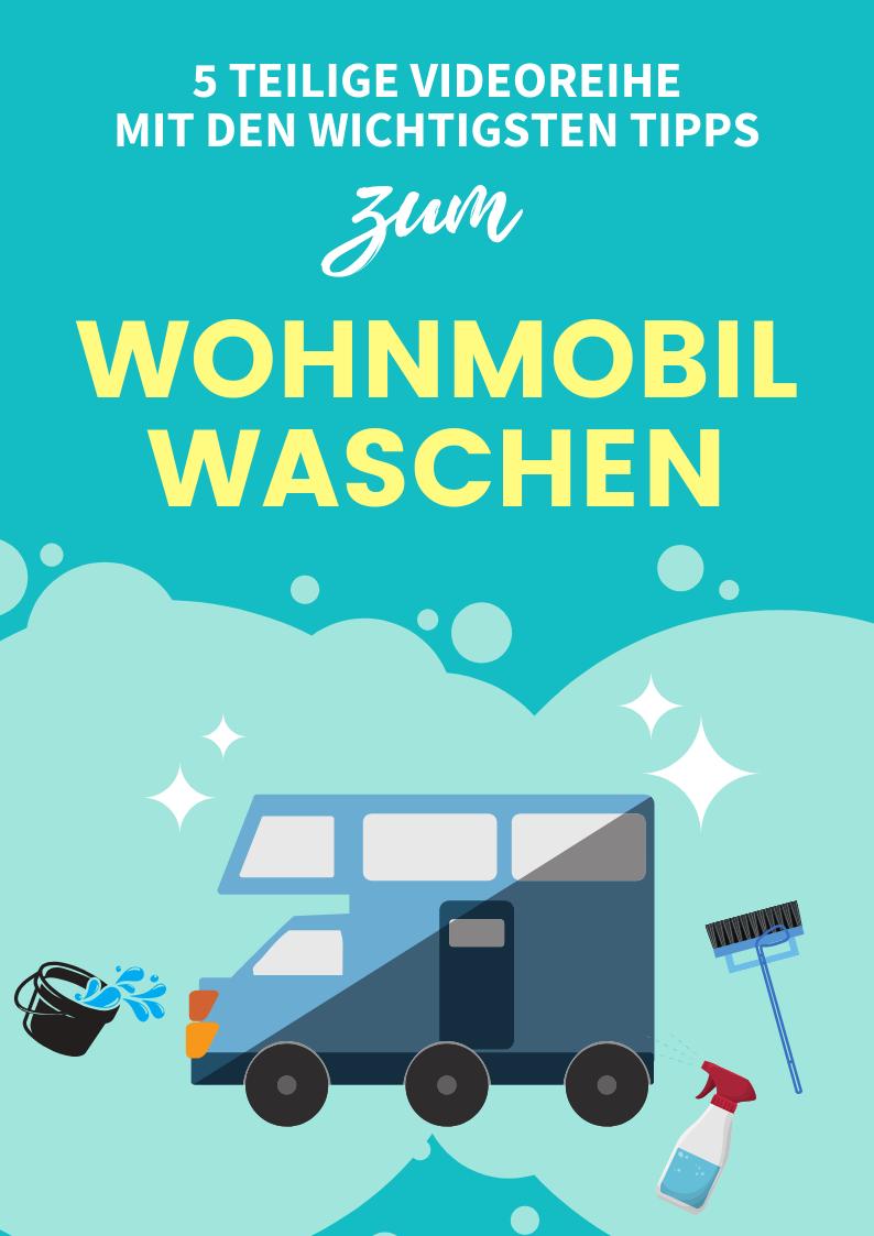 Tipps und Tricks zum Wohnmobil waschen  Wohnmobil, Pössl
