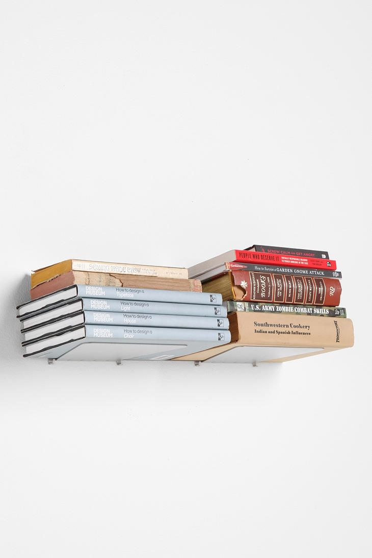 Love The Floating Bookshelves Estanter Invisible Estanteria