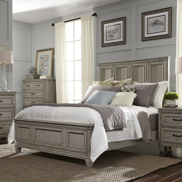 Best Laurel Foundry Modern Farmhouse Holsworthy Panel Bed 400 x 300