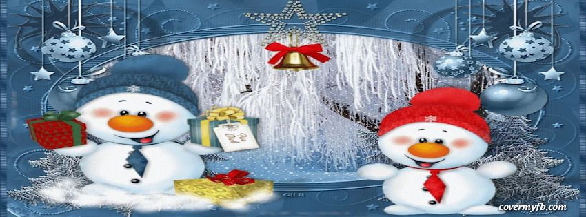 Cute Snowman Christmas Facebook Covers, Cute Snowman ...