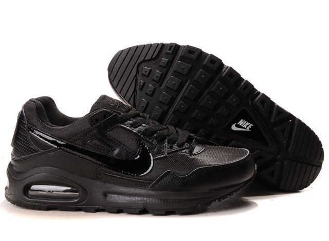 Nike Men's Shoes- Nike Air Max Skyline Trainers Running Black/Silvep