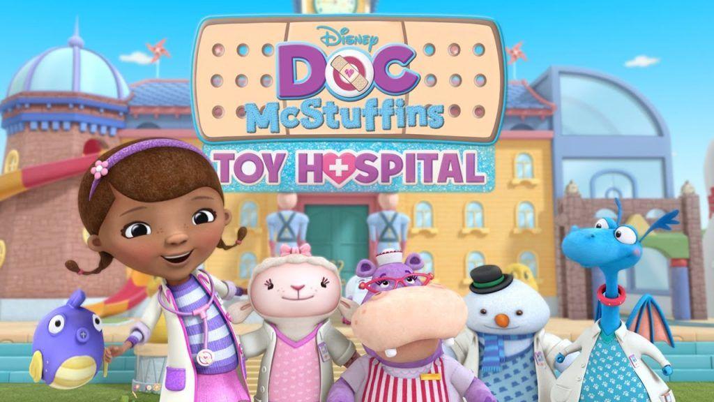 En Doc Mcstuffins Toy Hospital La Doctora Juguetes Estrena Clínica Ser Mamá Latina Doctora Juguetes Doctora Doc Mcstuffins