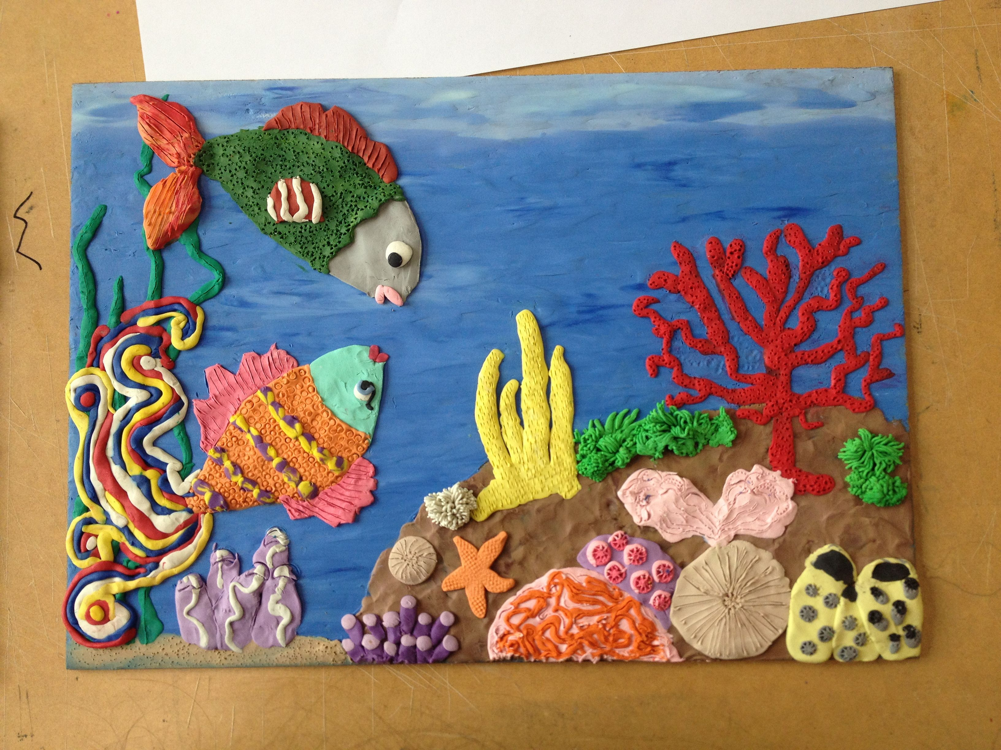 Plasticine Pictures: I Turned My School Hobby Into Art ...  Plasticine Sculpture